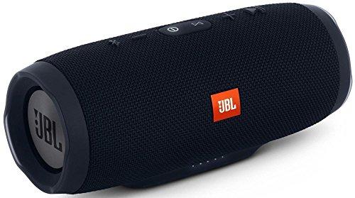JBL Charge 3 Waterproof Portable Bluetooth Speaker (Black), 1
