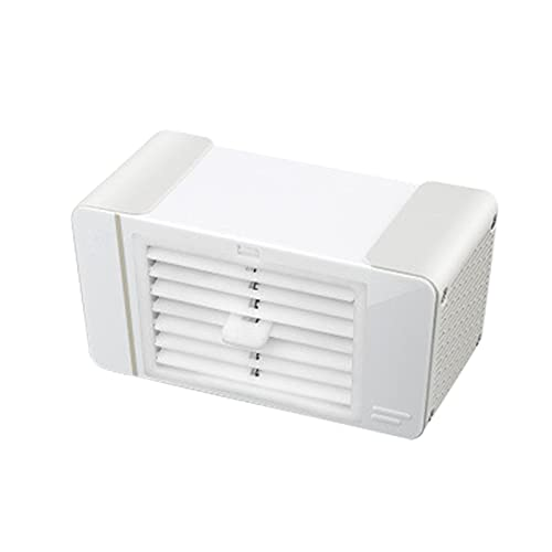 Kethorina Portable Air Conditioner Personal Space Air Conditioner USB Personal Air Cooler Portable Mini Fan Purifier White