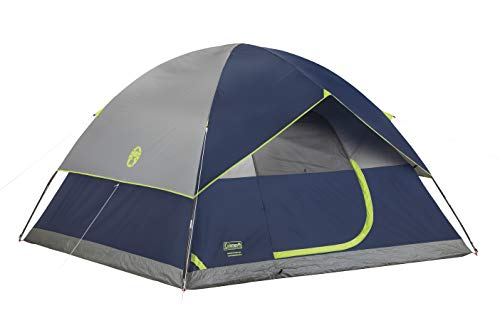 Coleman 4-Person Dome Tent for Camping   Sundome Tent with Easy Setup