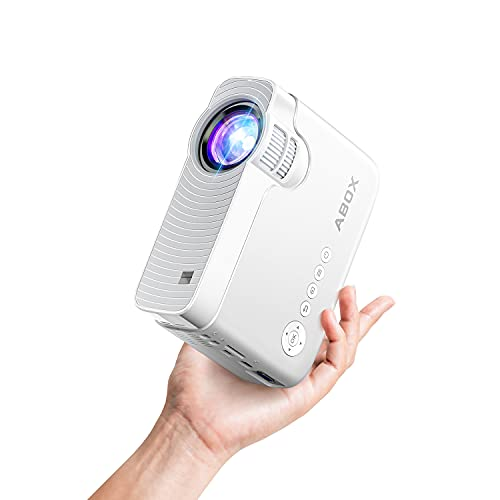 Bomaker Mini Projector for iPhone, Portable Wireless WiFi Projector for Phone/Office Presentation, Full HD 200' Display Supported, Compatible with Laptop, HDMI, TV Stick