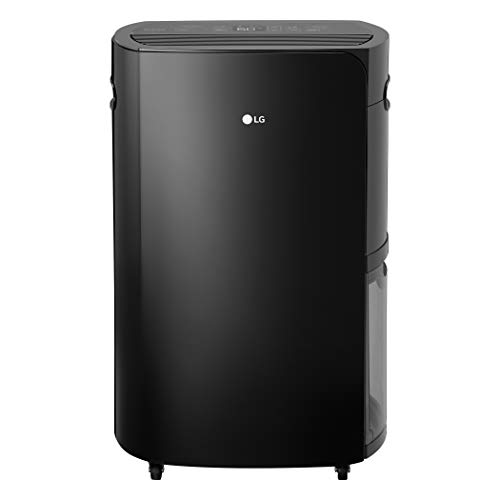 LG PuriCare 2019 50-Pint Pump and Wi-Fi in Black Energy Star Dehumidifier