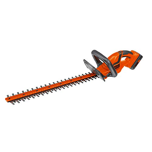 BLACK+DECKER 40V MAX Lithium-Ion 22-Inch Cordless Hedge Trimmer (LHT2240)