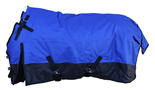 CHALLENGER 76' 1200D Horse Turnout Waterproof Heavy Weight Winter Blanket 5EE09G