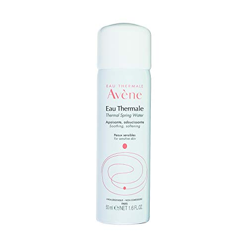 Eau Thermale Avene Thermal Spring Water, Soothing Calming Facial Mist Spray for Sensitive Skin, Fragrance-Free, Alcohol-Free, 1.6 oz.