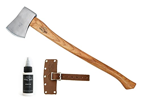 1844 Helko Werk Germany Classic Tasmania Competition Axe - German Made Wood Chopping Axe and Racing Axe #10498