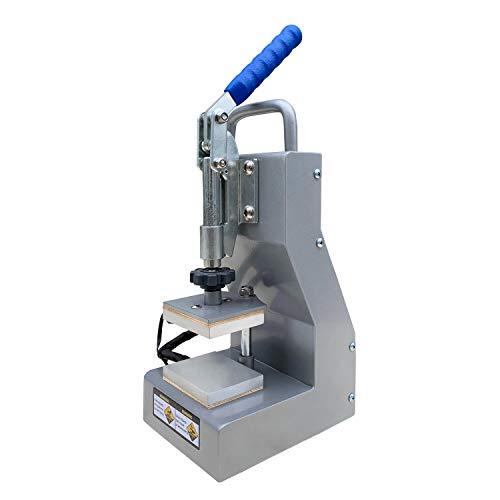 Dulytek DM800 Manual Heat Press Machine - 2.5' x 3' Dual Heat Plates - Precise Two-Channel Control Panel - Portable, Sturdy, Efficient - [Bonus Accessories Included]
