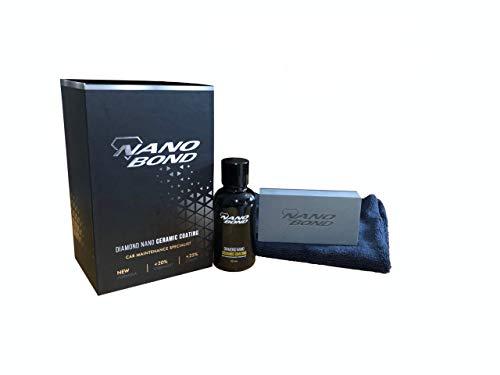 Nano Bond Ceramic Coating PRO Premium Car Care Kit 9H High Gloss Paint Protection 30ML