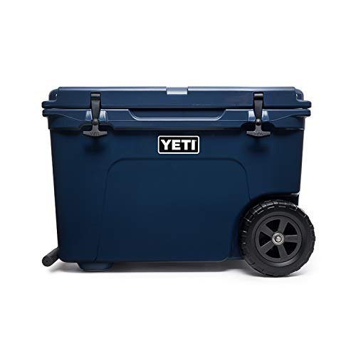 YETI Tundra Haul Portable Wheeled Cooler, Navy