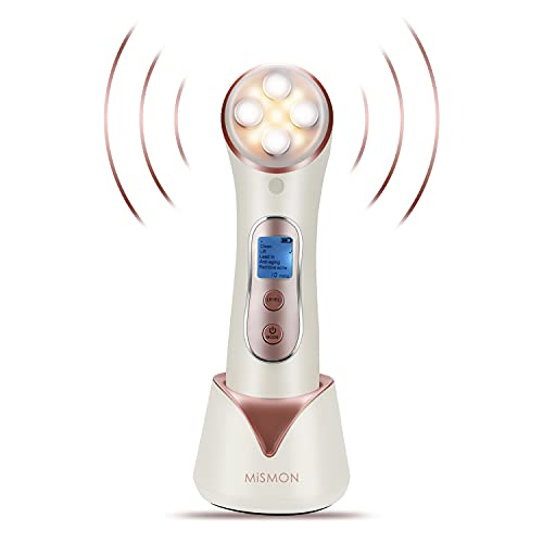 High Frequency Facial Machine, 5 in 1 Facial Massager Microcurrent Recharable Facial Frequency Wand