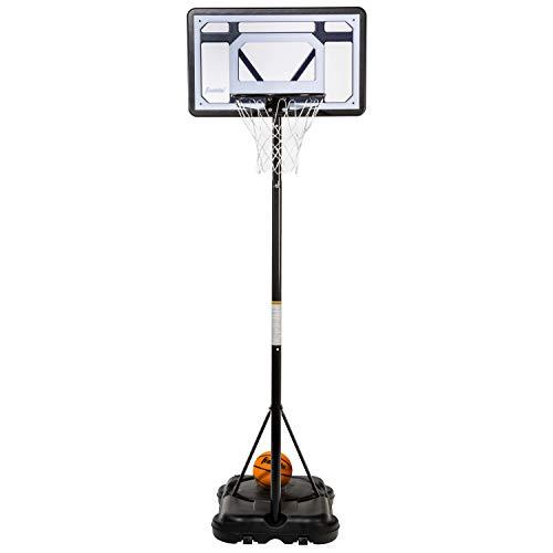 Franklin Sports Kids Basketball Hoop - Adjustable, Portable Basketball Hoop - Adjustable Height 5' to 7' - Driveway Hoop - 30' Backboard