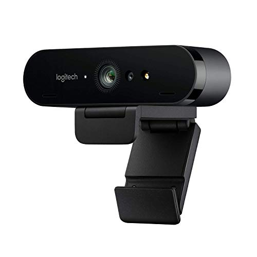 Logitech BRIO Ultra HD Webcam for Video Conferencing, Recording, and Streaming - Black
