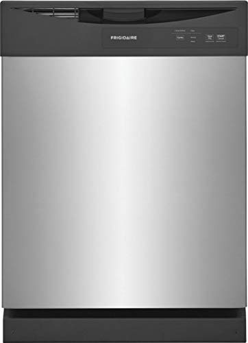 FD-PC-4221-AS 24' Built In Dishwasher with 12 Place Settings, 5 Wash Level, Stainless Steel Food Disposer, Tall Tub Design, in Stainless Steel