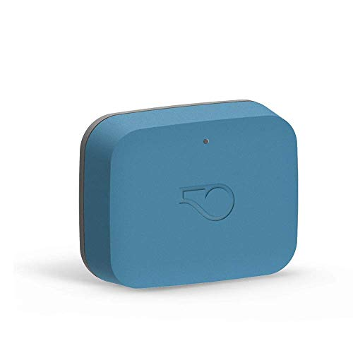 Whistle Go - Health & Location Tracker for Pets - Waterproof GPS Pet Tracker, 10 Day Battery, Pet Fitness Tracker fits on Collar or Harness - Blue
