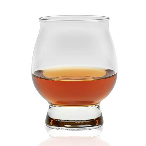 Libbey Signature Kentucky Bourbon Trail Whiskey Glasses, Set of 4