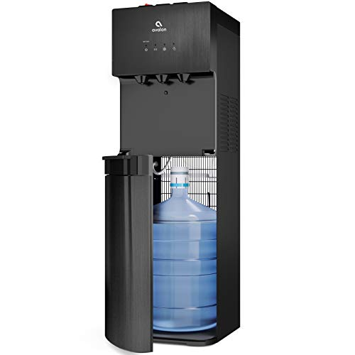Avalon Black Stainless Steel A3BLK Self Cleaning Bottom Loading Water Cooler Dispenser, 3 Temperature, UL/Energy Star
