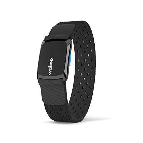 Wahoo Fitness TICKR FIT Heart Rate Monitor Armband, Bluetooth/ANT+ , Black