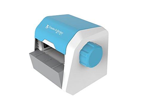 Xyron Create-A-Sticker, Sticker Maker, Mini, Includes Permanent Adhesive Cartridge (XRN250-CFTEN)