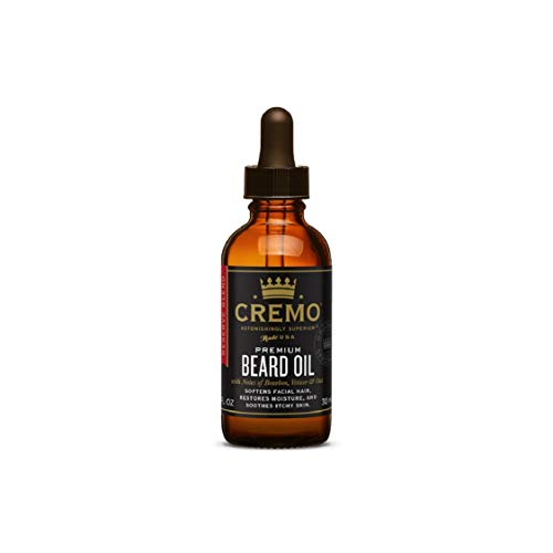 Cremo Beard Oil Reserve Collection, Distillers Blend, 1 Count