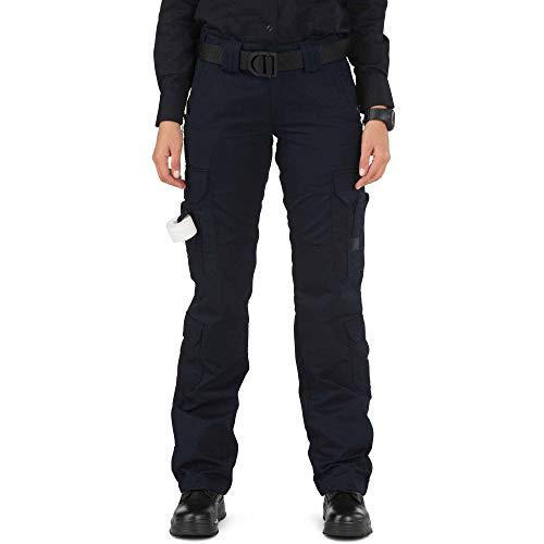 5.11 Tactical Women's Taclite Lightweight EMS Pants, Adjustable Waistband, Teflon Finish, Style 64369, Dark Navy, 10