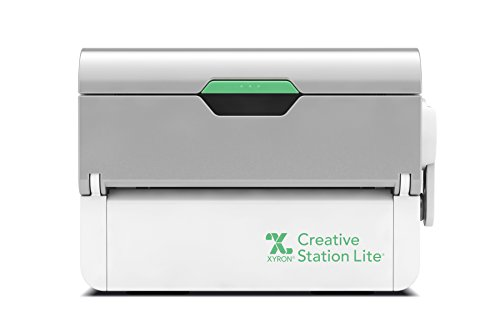 Xyron Creative Station Lite, 3' or 5', Label Maker, Makes Invitations, Handmade Cards, Die Cuts Craft Projects, DIY Craft Supplies, Perfect for Home School Projects & Home Office Accessories (624740)