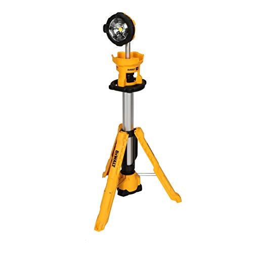 DEWALT 20V MAX LED Work Light, Tripod Base, Tool Only (DCL079B)