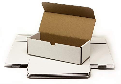 Storage Box for Toploaders and Cards in Penny Sleeves - 5 Pack - 200 Pound Test Boxes for Regular Top Loaders - Invest x Protect (Storage Box, 5 Pack)