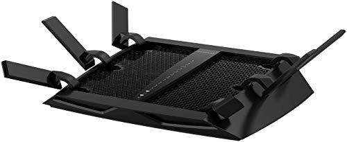 NETGEAR Nighthawk X6 Smart Wi-Fi Router (R8000) - AC3200 Tri-band Wireless Speed (Up to 3200 Mbps)   Up to 3500 Sq Ft Coverage & 50 Devices   4 x 1G Ethernet and 2 USB ports   Armor Security