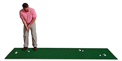 Putt-A-Bout Golf Putting Mat, 3 x 11-Feet, Green