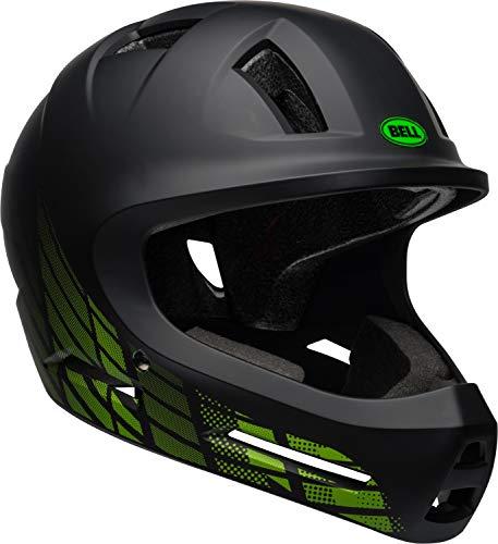 Bell Drop Youth BMX Bike and Skate Helmet, 7106369, Matte Black