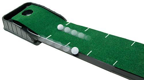 Club Champ Automatic Golf Putting System Black & green, 7 Inch