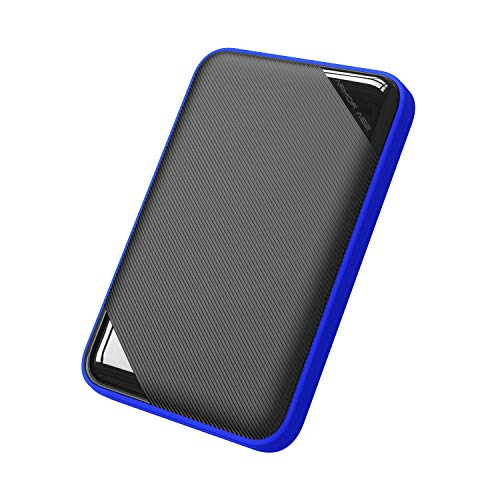 Silicon Power 1TB Rugged Game Drive Portable External Hard Drive HDD A62, Compatible with PS4 Xbox One PC and Mac