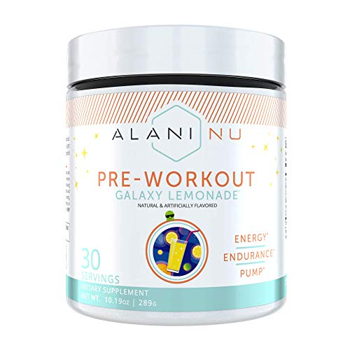Alani Nu Pre-Workout Supplement Powder for Energy, Endurance, and Pump, Galaxy, 30 Servings