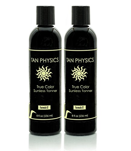Lot of 2 Tan Physics True Color Sunless Self Tanner Tanning Lotion