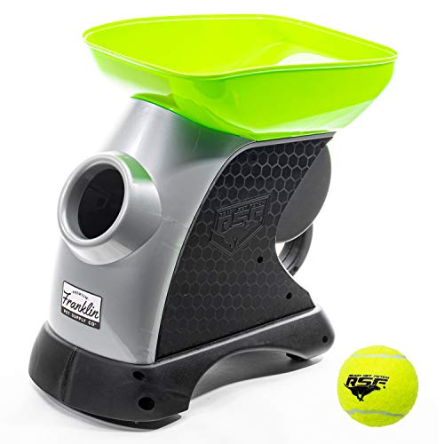 Franklin Pet Supply Ready Set Fetch Automatic Tennis Ball Launcher Dog Toy - Authentic Tennis Ball Thrower - Interactive Toy