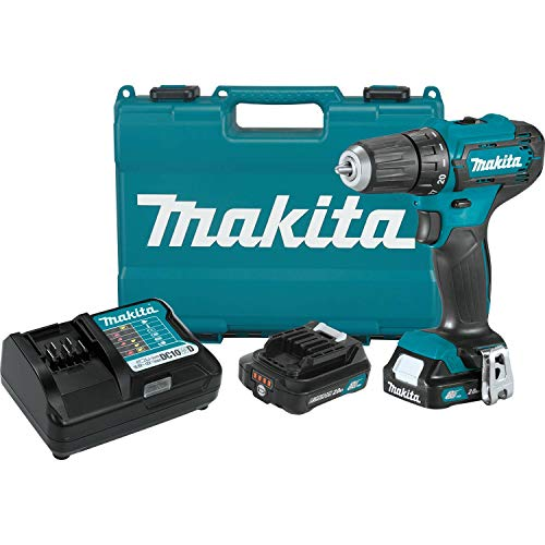 Makita FD09R1 12V max CXT Lithium-Ion Cordless 3/8' Driver-Drill Kit (2.0Ah)