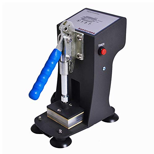 Heat Press Machine, Mini Manual Hot Presser 2x3'', 1000lbs 300W LCD Controller
