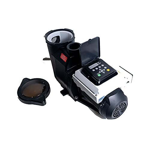 3 HP Energy Star Certified Variable Speed In Ground Blue Torrent Cyclone Swimming Pool Pump 2 Inch Ports Qualifies for Utility Rebates (Same Day Shipping)