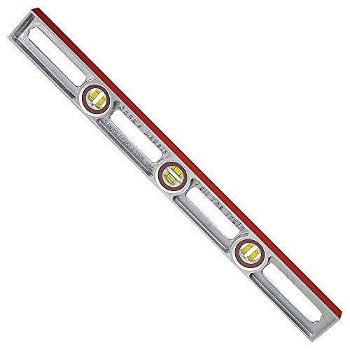 Sands Level & Tool SL3030 Professional Cast Aluminum Level, 30-Inch, Multi, One Size