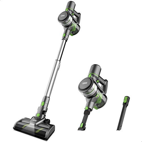 TOPPIN Stick Vacuum Cleaner Cordless - Tangle-Free 6 in 1 Powerful 12Kpa Suction Stick Vacuum, Lightweight and Large Capacity, Up to 35min Runtime, Ideal for Home Hard Floor Carpet Car Pet