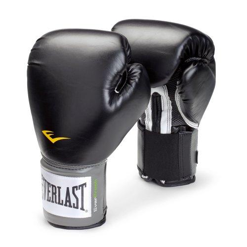 Pro Style Boxing Gloves-Black 16oz (PR)