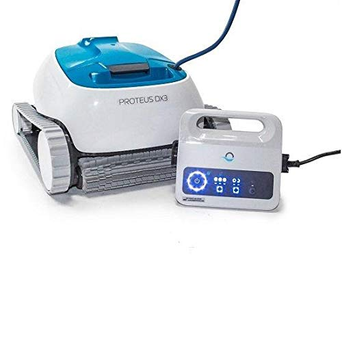 DOLPHIN Proteus DX3 Automatic Robotic Pool Cleaner, The Quick and Easy Way to a Clean Pool, Ideal for In - ground Swimming Pools up to 33 Feet