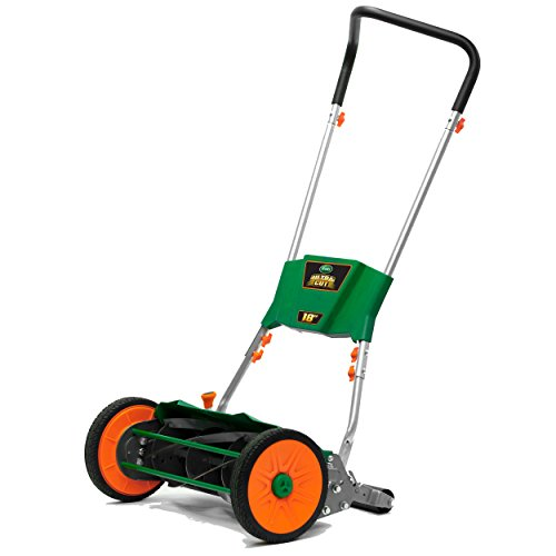 Scotts Outdoor Power Tools 515-18S Ultra Cut Reel Lawn Mower, 18-Inch, Green
