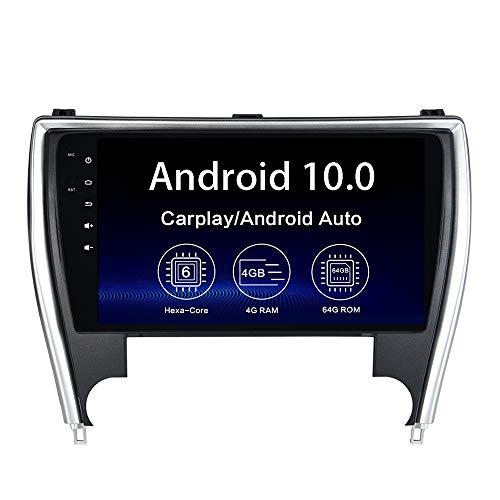 Dasaita 10.2' Android 10 Radio for Toyota Camry 2015 2016 2017 bluetooth Stereo GPS Navigation WIFI DSP Android Auto Head Unit 1280 X 720 HD Wireless Carplay