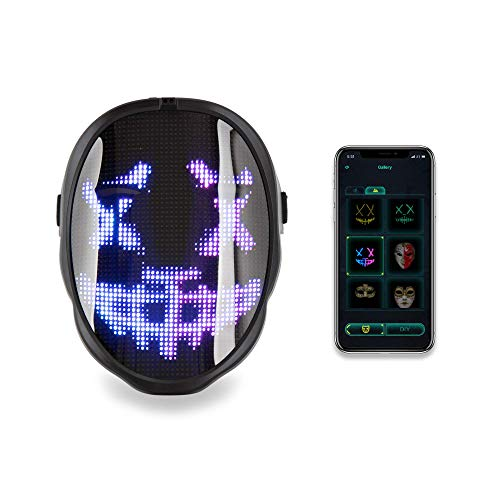 CHEMION LED Face Mask - Fun, Parties, Birthday! (Battery)