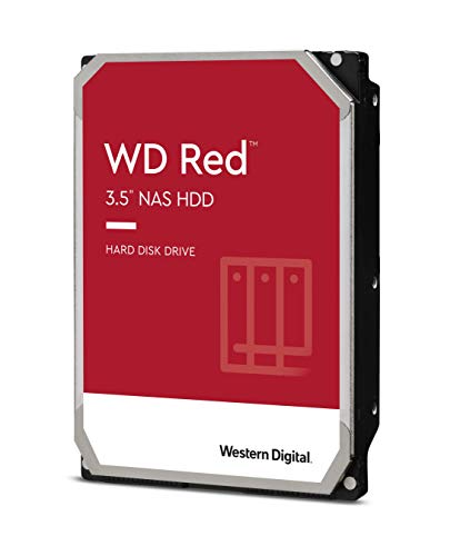 Western Digital 4TB WD Red NAS Internal Hard Drive HDD - 5400 RPM, SATA 6 Gb/s, SMR, 256MB Cache, 3.5' - WD40EFAX