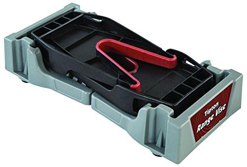 Tipton Compact Range Vise for Firearm Cleaning, Gunsmithing and Gun Maintenance , Black / Gray, 11-1/4 - 17-3/4'