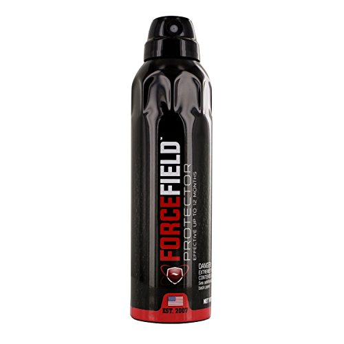 Forcefield Unisex-Adult Waterproof and Stain Resistant Protectant Spray for Shoes, Clothes and Hats, 6-Ounce Bottle