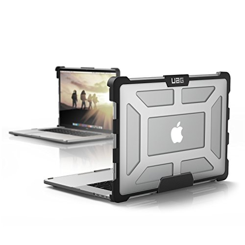 URBAN ARMOR GEAR UAG MacBook Pro 15-inch with Touch Bar (4th Gen, 2016-2019) Feather-Light Rugged [Ice] Military Drop Tested Laptop Case