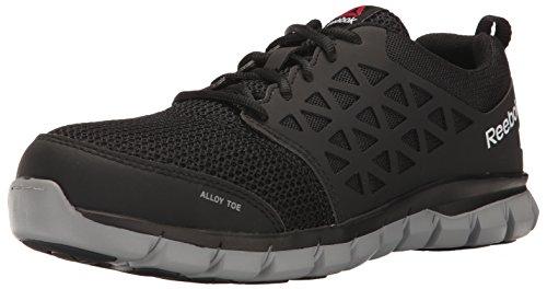 Reebok Work Men's RB4041 Sublite Cushion Safety Toe Athletic Work Industrial & Construction Shoe, Black, 12