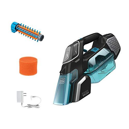 BLACK+DECKER spillbuster Portable Carpet Cleaner, Cordless Spill and Spot (BHSB320JP) , Blue